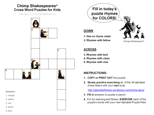 9-18-14 CS X word puzzle -colored chimps (1)